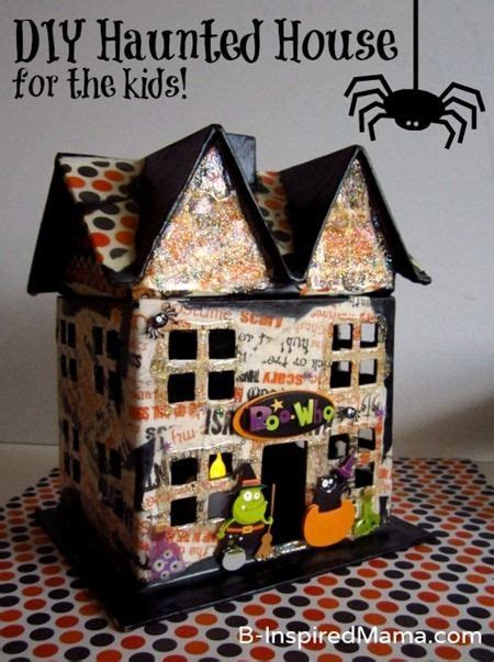 haunted house crafts for cardboard houses for and house on