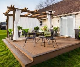 backyard wood patio 25 best ideas about wood patio on patio deck