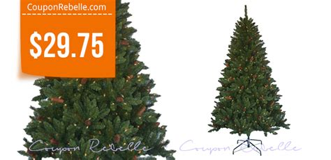 homedepot tree home depot 6 5 ft tree with lights pinecones