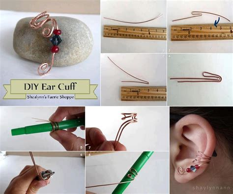 diy crafts for diy ear cuff fabdiy