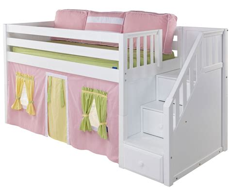 low bunk beds with stairs low bunk bed cheap design low bunk beds alpha single