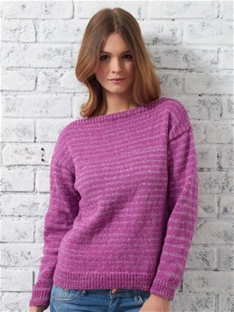 free easy knitting patterns for cardigans bateau sweater allfreeknitting