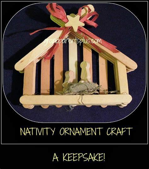 nativity craft nativity ornament craft grandparentsplus