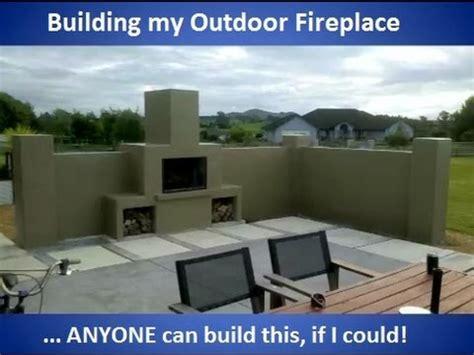 how to build fireplace building my outdoor fireplace with commentary
