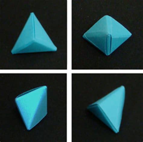 how to make origami geometric shapes trigonal bipyramid folding