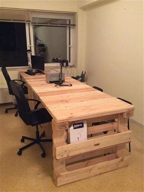 computer desk office wood pallet office computer desk 99 pallets