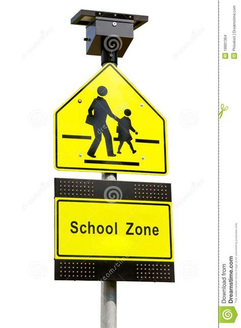 school zone school zone signs stock images image 18891364