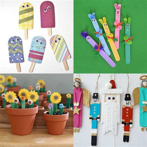 popsicle stick kid crafts what to make with popsicle sticks 50 crafts for