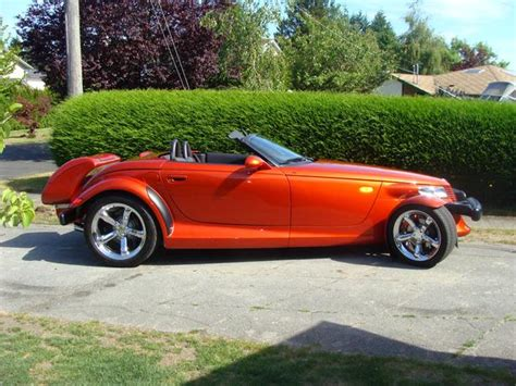 Plymouth Prowler Horsepower by 2001 Plymouth Prowler Saanich Sidney