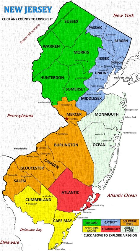 Nj Is Trying To Map South And Central Jersey