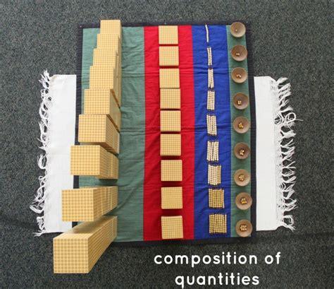 montessori math learn composition of quantities montessori math lesson