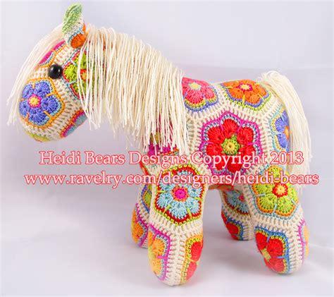 pony patterns animals heidi bears fatty lumpkin the brave flower pony