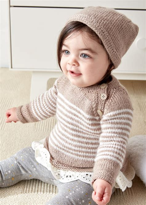 baby pullover sweater knitting pattern easy on pullovers for babies and children knitting