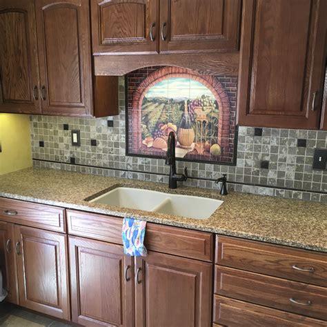 kitchen mural ideas decorative tile backsplash kitchen tile ideas tuscan