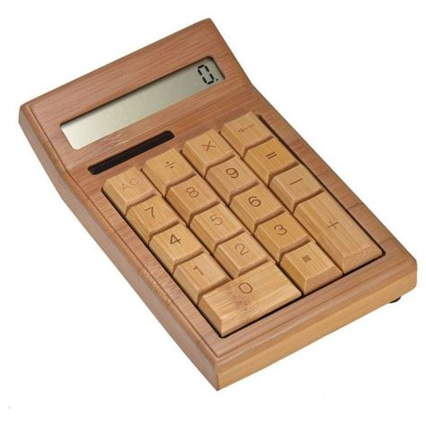 woodworking calculator geeek bamboo wooden calculator calculator geeektech
