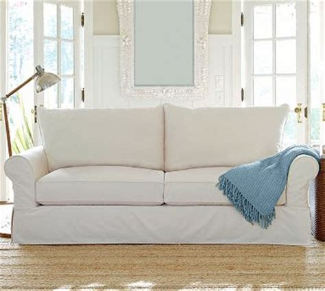 pottery barn sofa slipcovers creative home expressions hooked on white slipcovers
