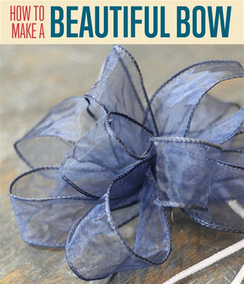 how to make a ribbon bow for a card how to tie a bow how to make beautiful bows with ribbon