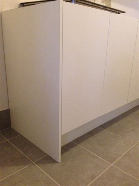 Kitchen Cabinet End Shelf by How To Install A Kitchen