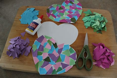 cool construction paper crafts craft bakersbeans