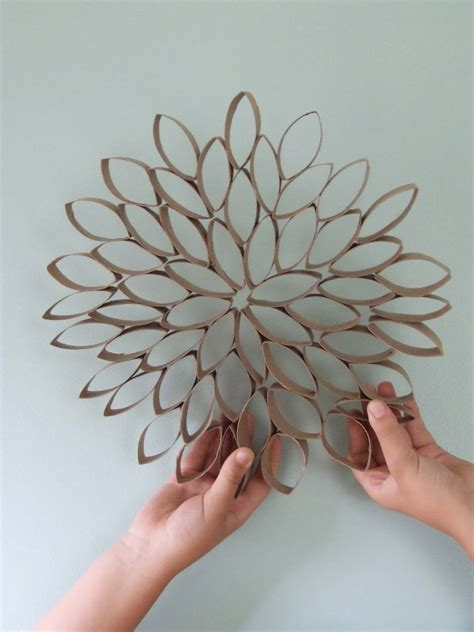toilet paper roll flowers craft olive observer fivethingsfriday toilet paper roll