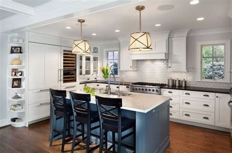 blue kitchen islands kitchen subway tiles are back in style 50 inspiring designs