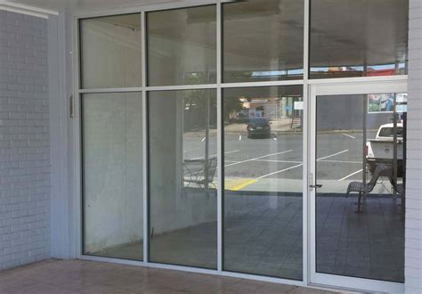 aluminium shop front doors uberstruct aluminium suppliers and installers