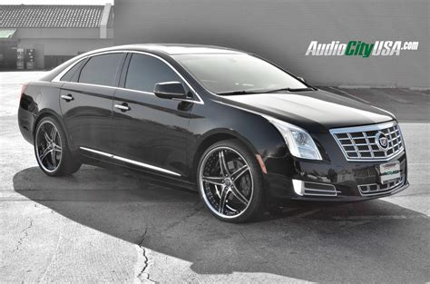 Cadillac On Rims by Cadillac Xts On 22 Inch Rims