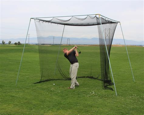 golf net for backyard make the most of your portable batting cage cages plus