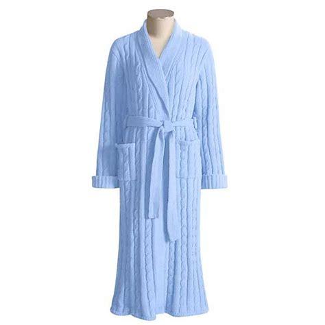 Paddi Murphy Marshmallow Robe Kimono Style Cable Knit
