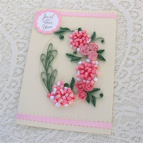 craft paper and card handmade quilled birthday cards ideas craft gift ideas
