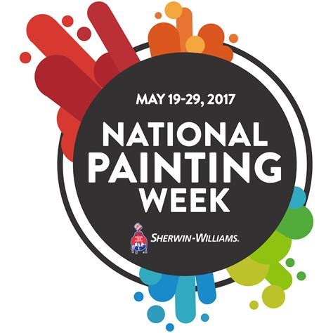 in national bookstore 2016 national painting week from sherwin williams
