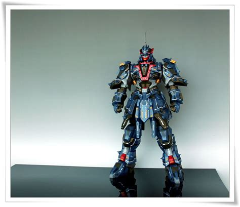 amazing paper craft amazing taekwon v robot paper model by oadean3