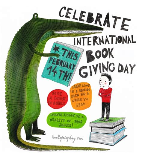 International Book Giving Day 2014 Poster International