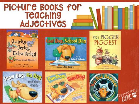 picture books to teach vocabulary unpack your adjectives books and activities to teach