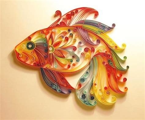 paper strips craft crafts quilling the of turning paper strips into