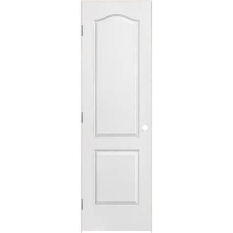 24 x 80 interior door masonite 24 inch x 80 inch lefthand 2 panel arch top