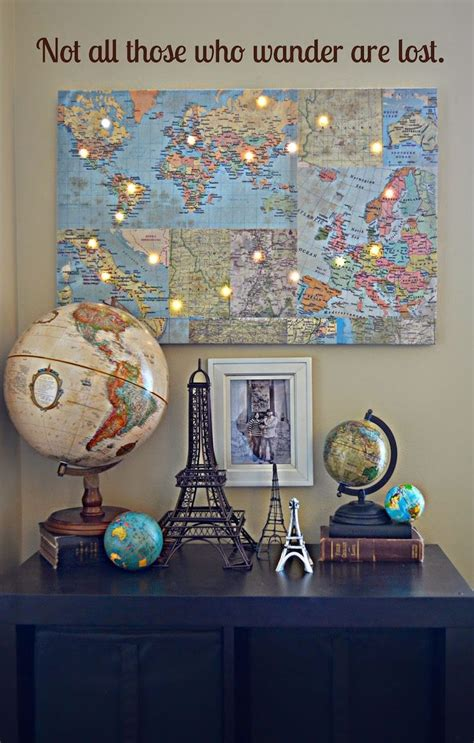 world map home decor 25 best ideas about world travel decor on