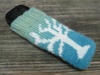 how to knit a phone sock pin by stohr on knitting