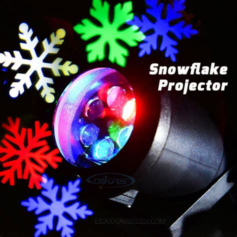 snowflake outdoor lights outdoor snowflake light projector for