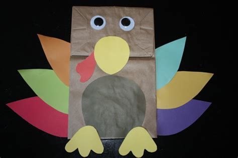 brown paper bag crafts for preschoolers preschool crafts for thanksgiving turkey paper bag