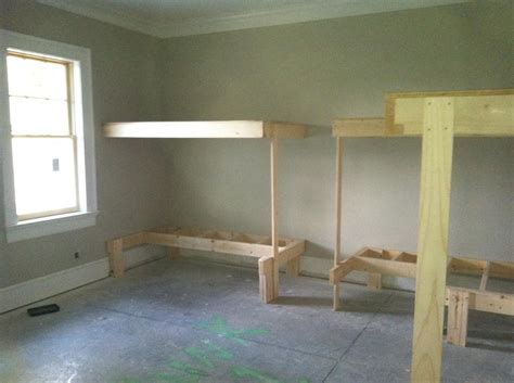 built in beds built in bunk beds carpentry picture post contractor talk