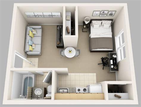 studio apartment plan le plan appartement d un studio 50 id 233 es originales