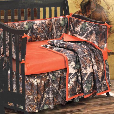 baby camouflage bedding sets camo bedding 4 orange and camo crib set camo trading
