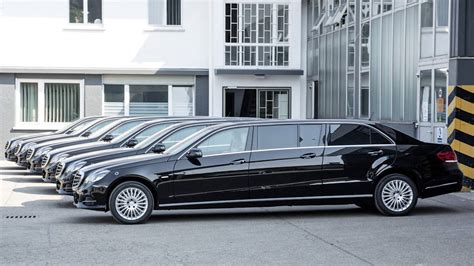 Mercedes Limousine by Mercedes E Class Limo Offers Six Doors Autoweek