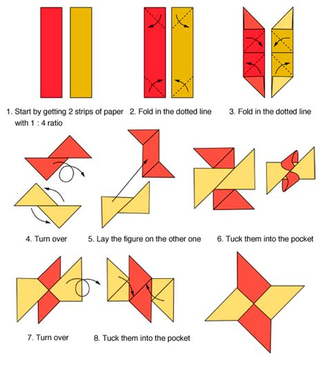 how to make a origami shuriken shuriken origami