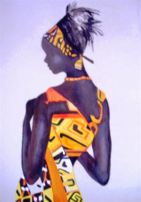 cuadros etnicos mujeres africanas cuadros modernos pinturas y dibujos cuadros de mujeres