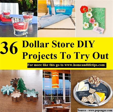 dollar store craft projects 36 dollar store diy projects to try out home and tips