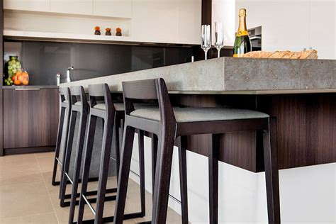 kitchen island bar stool lavish family residence in perth blends aesthetics with