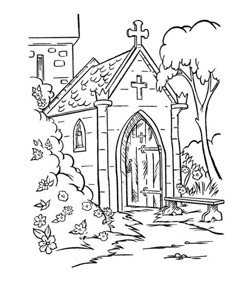 church for adults church color pages coloring home