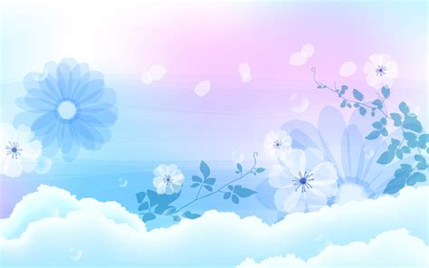 light flowers backgrounds wallpapers free